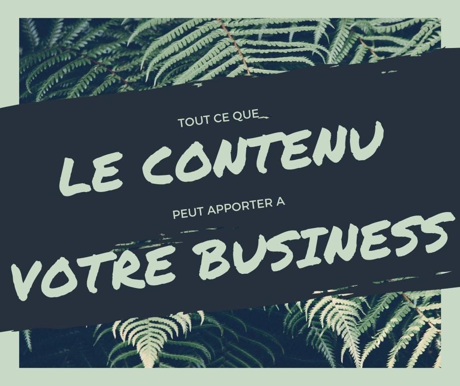 Copywriting : ce que le contenu peut apporter vraiment à votre business