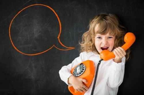 Idée : que dire au téléphone. Un contenu clé