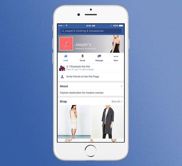 facebook e commerce