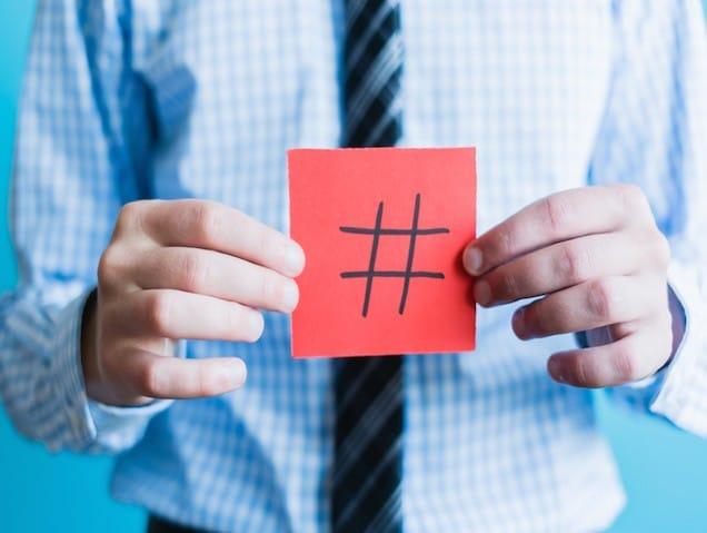 stratégie twitter : se servir d'un hashtag