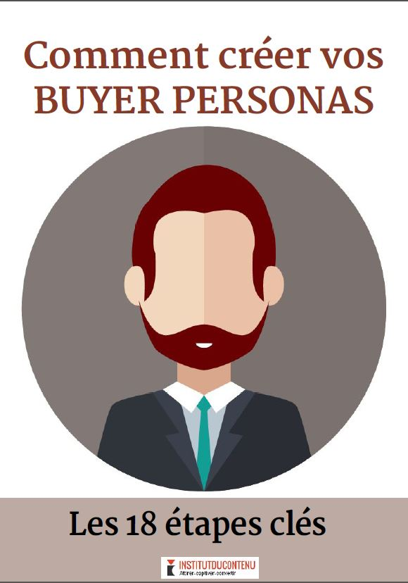 Exemple : l' e-book Buyer Personas de l'Institut du contenu