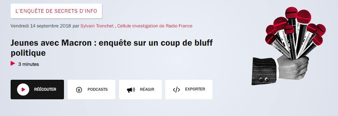 France inter secrets infos repéré par INSTITUT DU CONTENU