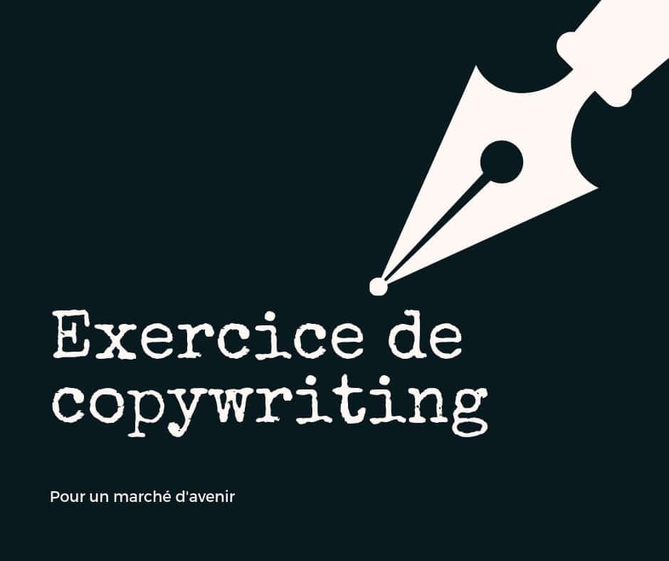 exercice de copywriting