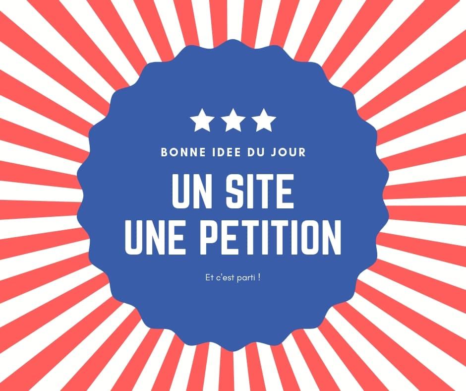 un site, une pétition. La technique Macron