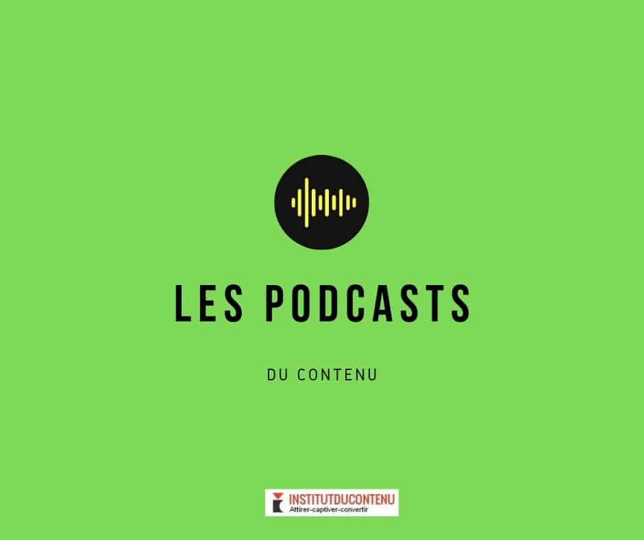 podcast de l'Institut numéro 3