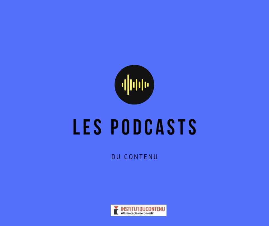 Podcast de l'Institut du contenu num4